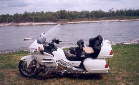 """2005"" GL 1800 Gold Wing"